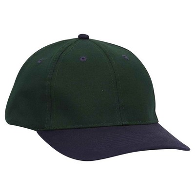 OTTO Brushed Cotton Blend Twill 6 Panel Low Profile Baseball Cap